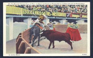 Mounted Toreador & Bull Fighting unused c1939