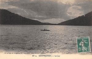 France Gerardmer - Le Lac, Lake, Boat CPA