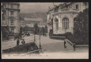 100752 MONACO Monte-Carlo Un Coin du Casino Vintage PC