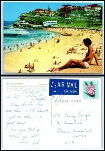 AUSTRALIA Postcard - Bronte Beach GQ