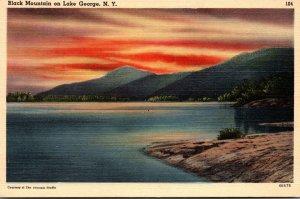New York Lake George Black Mountain