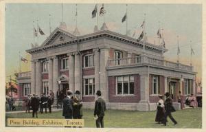 TORONTO , Ontario, 1907 ; C.N.E. ; Press Building