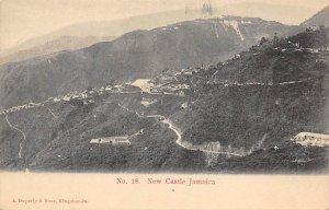 Jamaica, Jamaique Post card Old Vintage Antique Postcard New Castle Unused