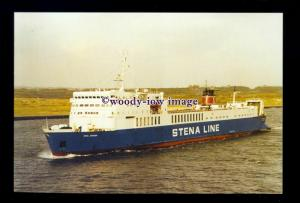 SIM0246 - Stena Line Ferry - Stena Seatrader , built 1973 ex Svea Link -postcard