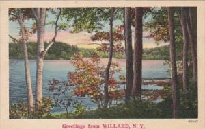 New York Greetings From Willard 1943