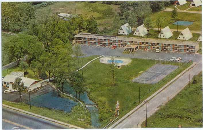 Travel-Eze Motel & Restaurant Black Mountain North Carolina