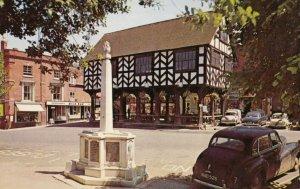 LEDBURY , UK , 1950-60s ;  War memorial & Market House