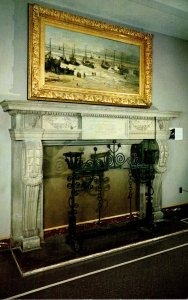 Missouri Independence Harry S Truman Library Fireplace In State Dining Room