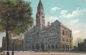 NASHVILLE, Tennessee, 1907 ; Custom House & Post Office