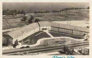 RP: RICHLAND , Washington , 1950 ; Hotel, ELLIS 4701