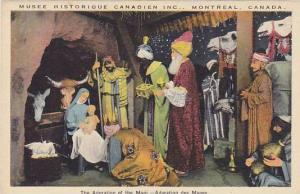 The Adoration of the Magi, Musee Historique Canadien Inc., Montreal, Quebec, ...