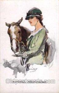 Artist Signed Barribal Horse Barribal Unused