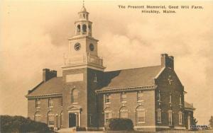 1920s Hinckley Maine Prescott Memorial Good Will Farm Albertype postcard 8142