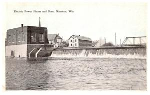 Wisconsin  Mauston , Electric Power House and Dam