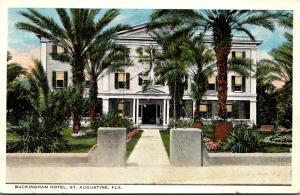 Florida St Augustine The Buckingham Hotel Curteich