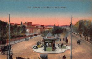 Syria Damas Le Boulevard El Nassr Esplanade Postcard