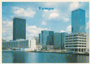 Skyline with Hilton Inn and Swire House Tampa Florida