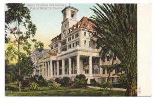 Palm Beach FL Royal Poinciana Hotel ca 1905 UDB Postcard