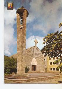 Postal 022427 : El Pallars, Iglesia Parroquial de Pont de Suert. Pirineu Cata...
