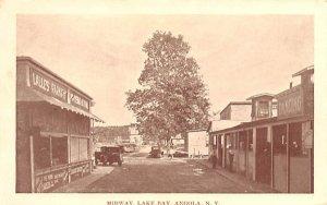 Midway Angola, New York Postcard