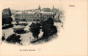 CPA   Caen - La Place Royale    (515785)