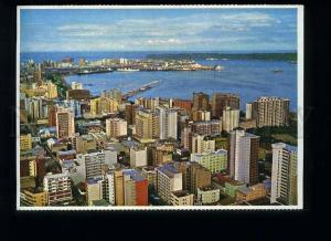 179278 Flats blocks Durban South Africa old postcard