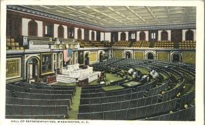 Hall of Representatives Legislative Chamber, Washington, DC - WB