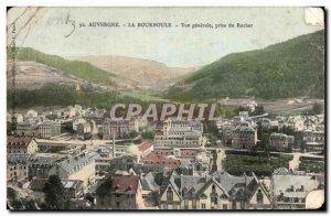Old Postcard Auvergne La Bourboule Vue Generale du Rocher decision