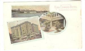 3-Views, Compliments King Edward Hoel, Toronto, Ontario, Canada, PU-1938
