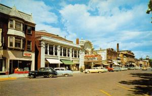 Baraboo Wisconsin~Square~Ringling Theater~Fort Yuma~1950s Cars~Station Wagons
