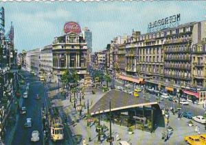 Belgium Brussels De Brouckere Square