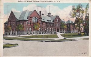 Prince of Wales College , CHARLOTTETOWN , P.E.I. , Canada , PU-1926