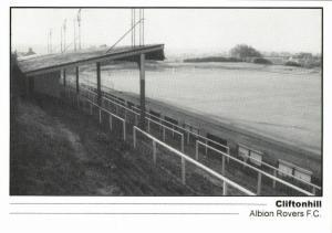 scotland, COATBRIDGE, Cliftonhill, Albion Rovers F.C. (1990s) Stadium Postcard