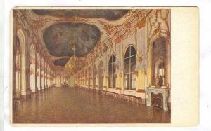 Interior, Great Lobby, Scoenbrunn, the Old Imperial Castle of Pleasure, Vienn...