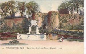 Le Porte Des Degres Et Le Souvenir Francais, Boulogne-sur-Mer (Pas de Calais)...