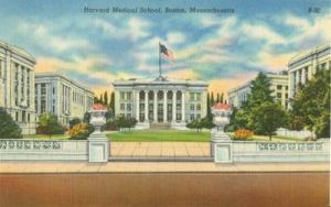 Harvard Medical School, Boston, Massachusetts 1940s unuse...