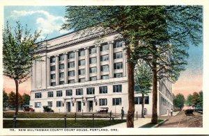 Oregon Portland New Multnomah County Court House Curteich