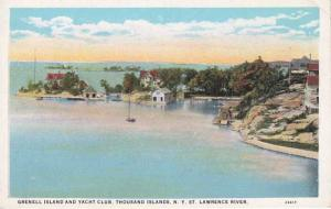Grenell Island and Yacht Club - Thousand Islands, New York - WB