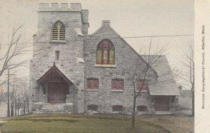 ATLANTIC , Massachusetts , PU-1911 ; Memorial Congregational Church