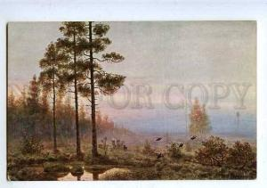 183708 RUSSIA MURAVIEV grouse hunt capercaillie blackcock Old