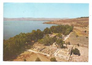 Capharnaum Israel 1975 4X6 Posted in Italy