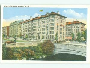 Unused W-Border SOMERSET HOTEL Boston Massachusetts MA hr9036-22