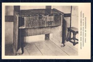 Shakespeare's School Desk Stratford-on-Avon unused c1920's