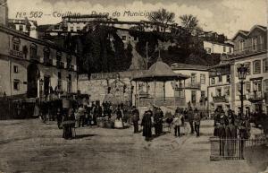 portugal, COVILHAN COVILHÃ, Praça do Município (1916)