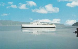 Ferry , Nanaimo , B.C. , Canada , 50-60s