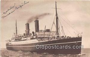 SS Montrose Canadian Pacific Ship Postcard Post Card Canadian Pacific Postcar...