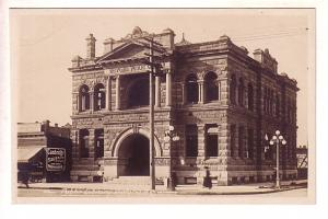 Real Photo, Public Library, Sausage Kitchen, Victoria, British Columbia