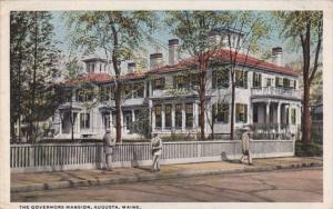 Maine Augusta The Governors Mansion Curteich