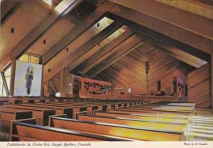 Canada Cathedrale du Christ-Roi Gaspe Quebec
