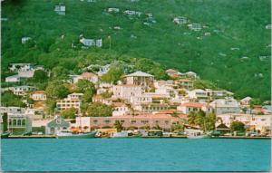 St. Thomas US Virgin Islands Denmark Hill Vintage Postcard D73